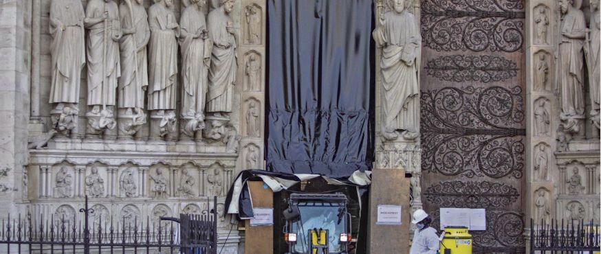 Реставрация Собора Парижской Богоматери