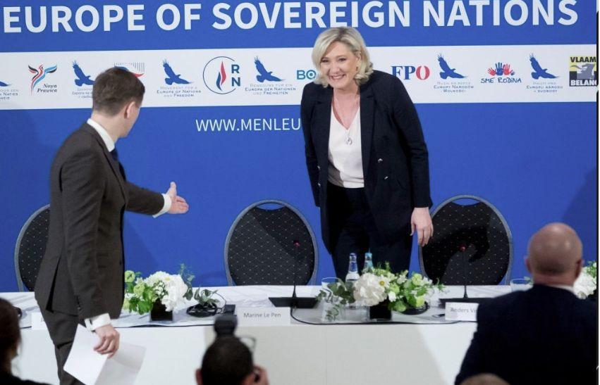 «Национальное объединение» и его европейские союзники..