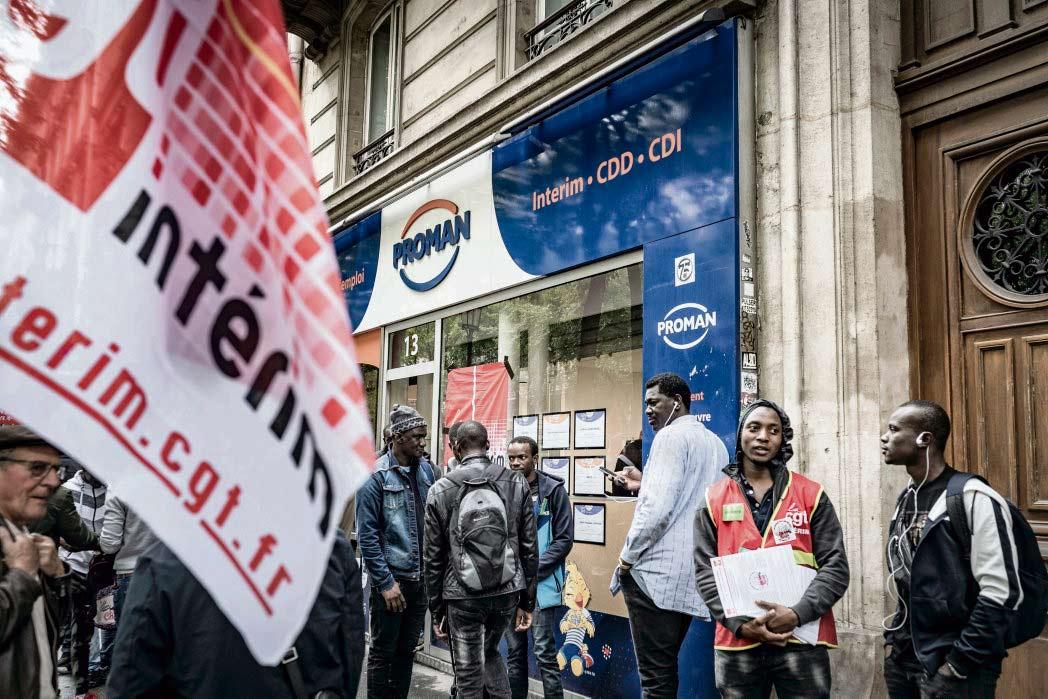 Вчера в регионе Иль-де-Франс прошло двенадцать протестных акций нелегальных мигрантов. Их цель – добиться официального трудоустройства и разоблачить ужасное отношение работодателей к мигрантам. Некоторые протестующие уже одержали победу.