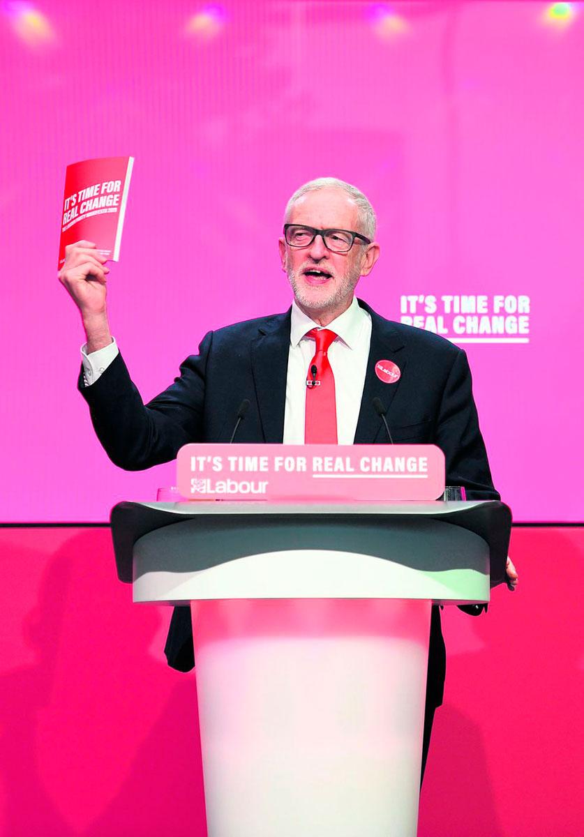 Национализация, налогообложение капиталов, экология… К выборам, которые должны пройти 12 декабря 2019 года, лейбористы подготовили самую радикальную за последние десятилетия программу.