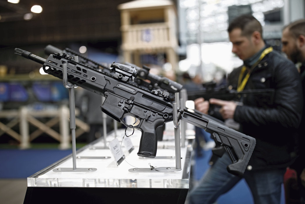 Доходы ста самых крупных предприятий по производству оружия выросли за 2018 г. на 4,6 %. Доля Франции на этом рынке 5,5 %.