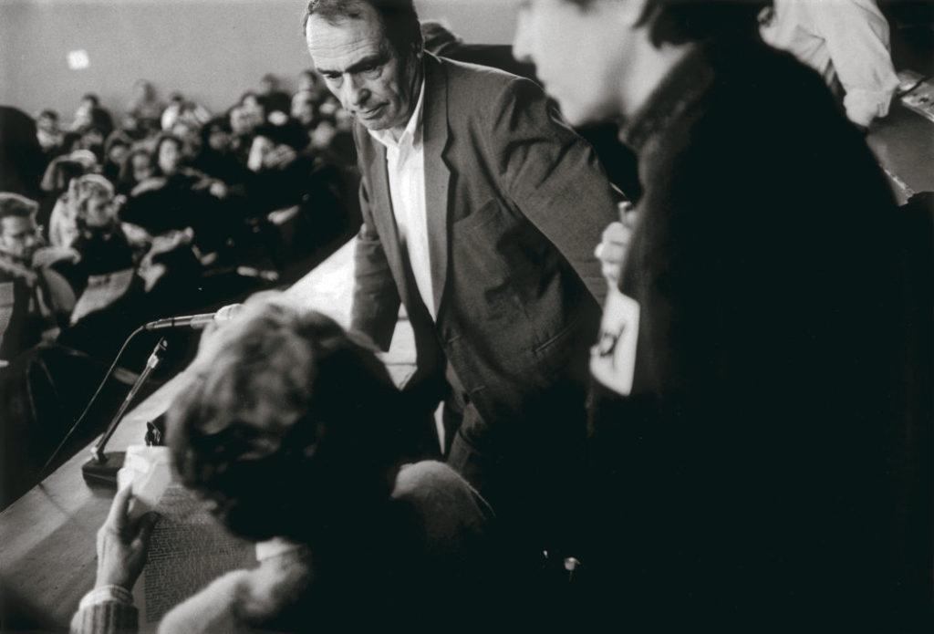 12 декабря 1995 года, в разгар скандала вокруг пенсионной реформы, Пьер Бурдьё произнёс перед бастующими речь, которая стала важной вехой в истории протестного движения.