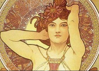 Альфонс Муха и женщины-цветы по-славянски