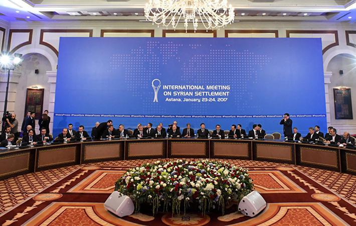 В Астане (Казахстан) состоялась встреча при поддержке России, Турции и Ирана, в которой приняли участие вооружённые оппозиционные группировки, воюющие в Сирии, и представители сирийской власти. Курдские силы обороны приглашены не были.