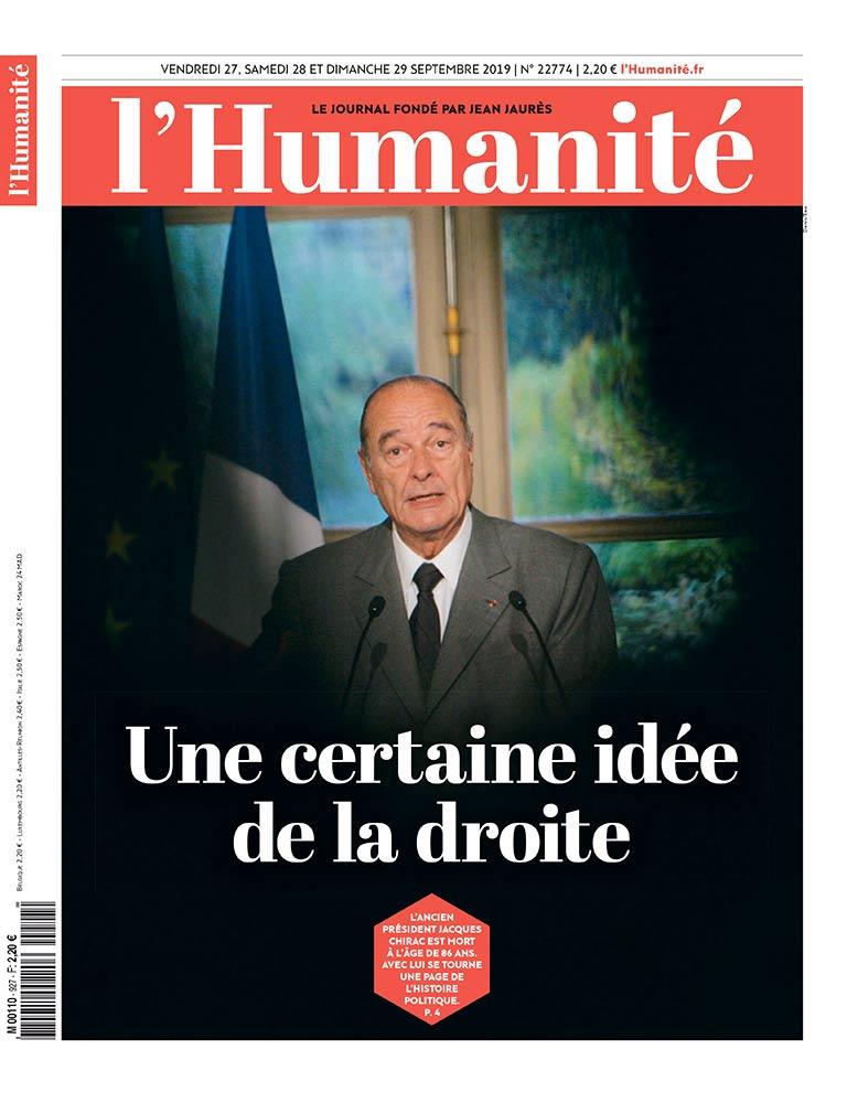 В четверг ушёл из жизни бывший президент Республики Жак Ширак. Он был, несомненно, видным партийным и государственным деятелем, оставив значительный след в истории. Этому человеку удалось не только сплотить правых голлистов, но и возглавить их, правда, проявляя при этом.