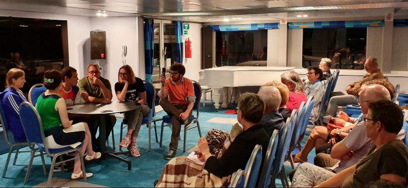На встрече читателей «Юманите» из Франции, России и Украины обсуждался конфликт на Донбассе
