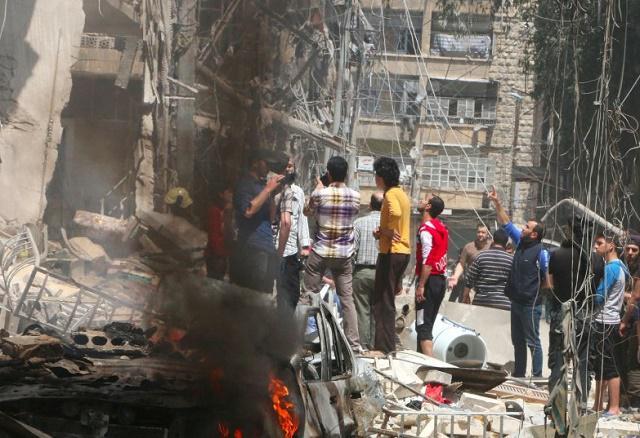 """Бывший эмиссар ООН Лахдар Брахими даже не подозревал, насколько точной окажется его фраза, произнесённая им в выступлении на канале """"Франция 24"""" в октябре прошлого года, о том, что весь мир несёт ответственность за сирийскую трагедию."""