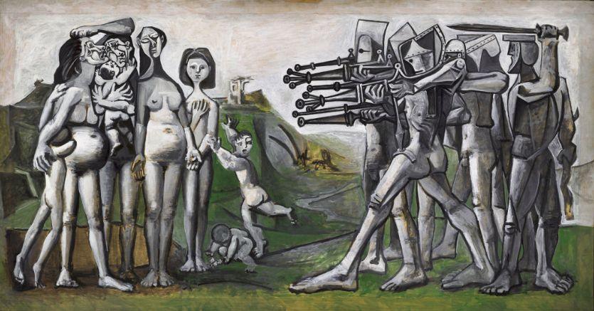 Пабло Пикассо – с мыслью о войне, в борьбе за мир.