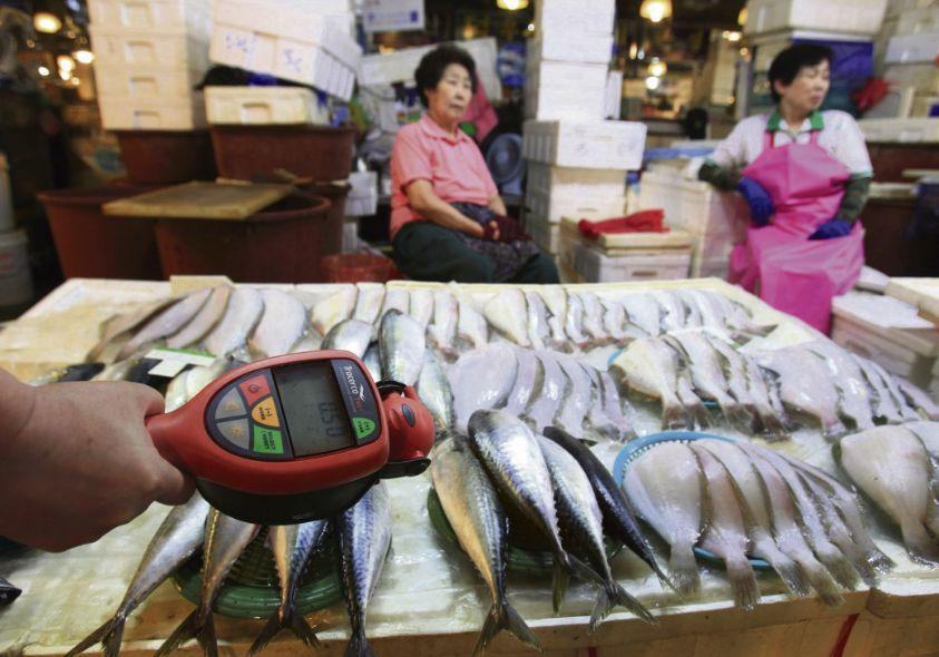 Рыба из Фукусимы по сходной цене.