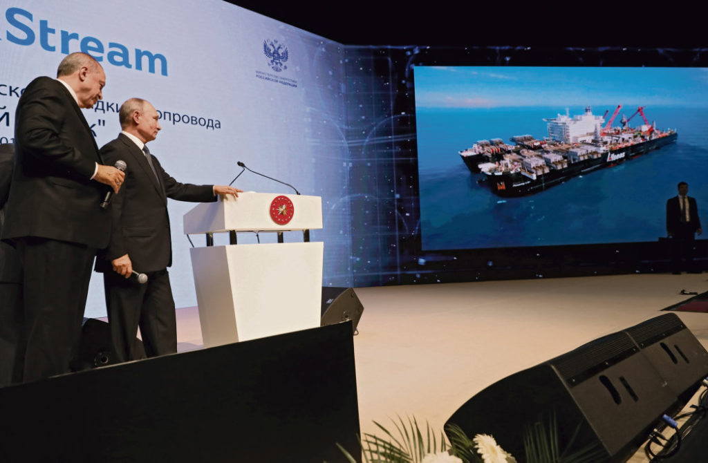 В среду в Стамбуле состоится торжественное открытие газопровода «Турецкий поток». В церемонии примут участие Владимир Путин и его турецкий коллега Реджеп Эрдоган.