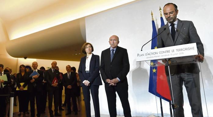 13 июля, два года спустя после теракта в Ницце, накануне государственного праздника и за два дня до финала Чемпионата мира по футболу, Эдуар Филипп представил новый план борьбы против терроризма.