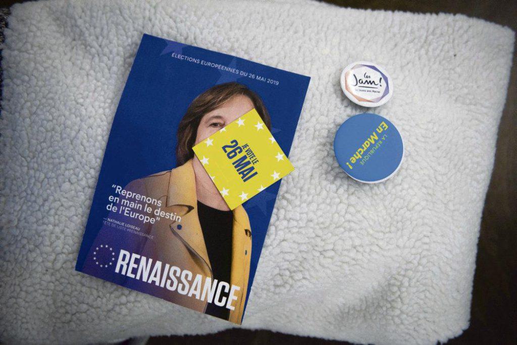 Компания движения «Вперёд!Республика» по выборам в Европарламент идёт на спад. Причина - отсутствие чёткой программы и полемика, развернувшаяся вокруг фигуры Натали Луазо