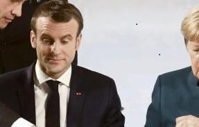 В действительности франко-немецкая ось больше не пользуется прежним авторитетом в Европейском союзе. После избрания на пост президента Республики в мае 2017 года взор Эммануэля Макрона всегда был направлен только в сторону Ангелы Меркель