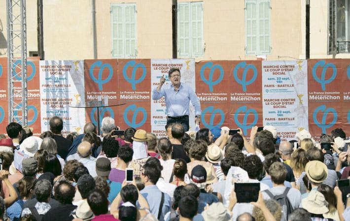 Вчера в Марселе Жан-Люк Меланшон произнёс речь в лучших традициях своих выступлений времён борьбы за кресло в Елисейском дворце, слушая которую можно было подумать, что президентская кампания не закончилась.