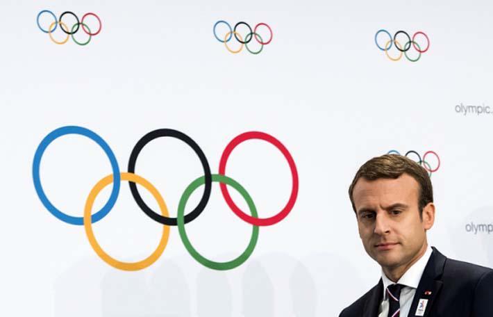 Эммануэль Макрон побывал вчера в Марселе. Конечно, не для того, чтобы принять участие в демонстрации