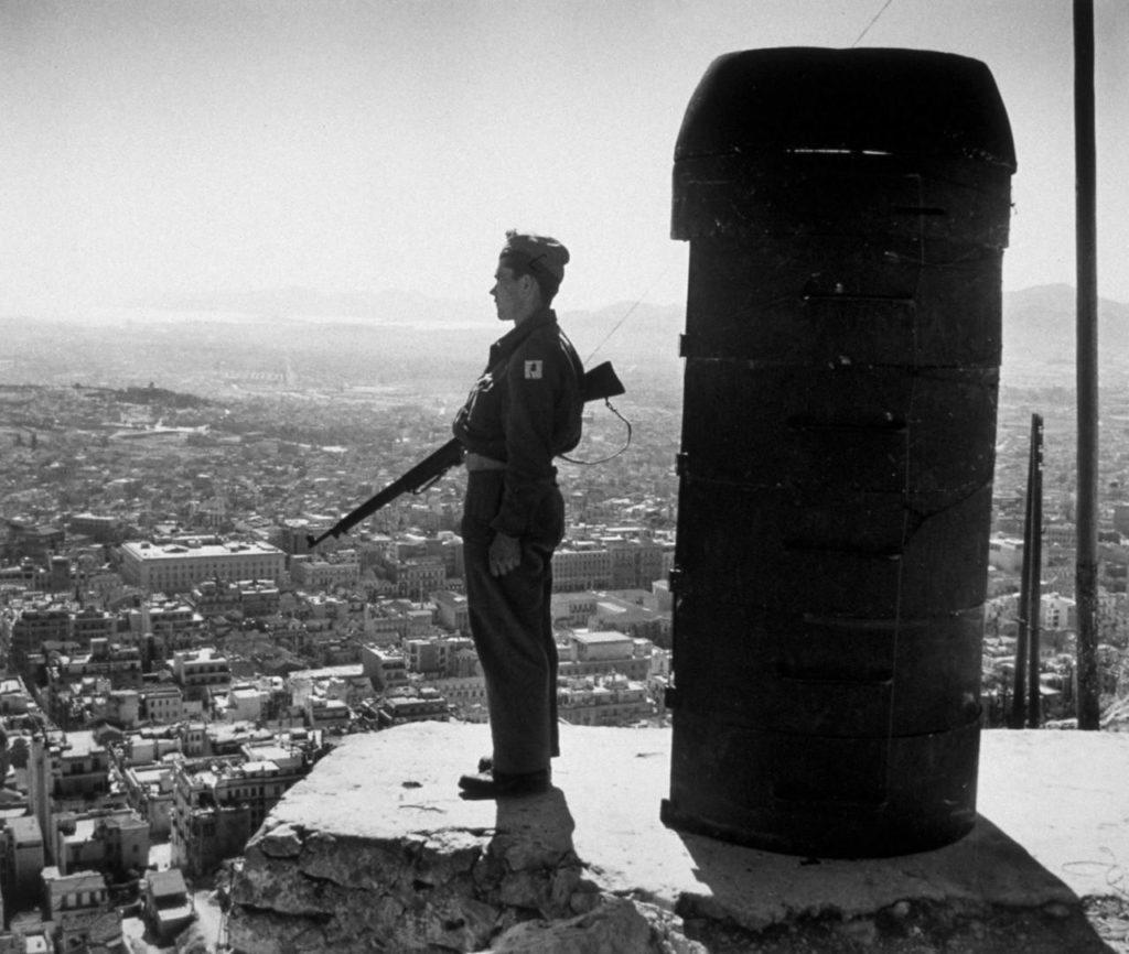 «Неудача фашистских атак в Греции». Такой заголовок в феврале 1947 года «Юманите» даёт статье, посвящённой греческой гражданской войне.