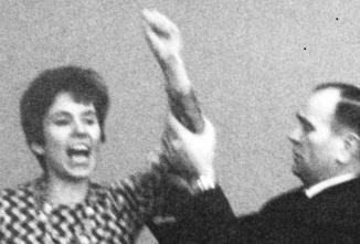 7 ноября 1968 года. Федеративная республика Германия. Делегаты второй день проходящего в Бердине съезда Христианско-демократического союза (ХДС) собрались на итоговое заседание.
