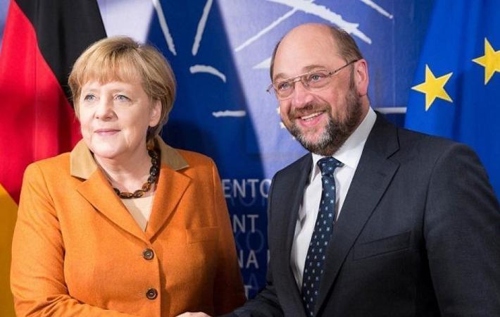 Съезд Социал-демократической партии Германии начнётся с обсуждения вопроса, который стоял на повестке дня ещё в 2013 году: большая коалиция – да или нет?