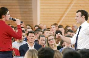 «Молодёжь любит этого молодого президента», – утверждал вчера министр образования Франции Жан-Мишель Бланке. Смелое заявление, ведь с момента своего избрания Эммануэль Макрон почти не уделял молодёжи внимания