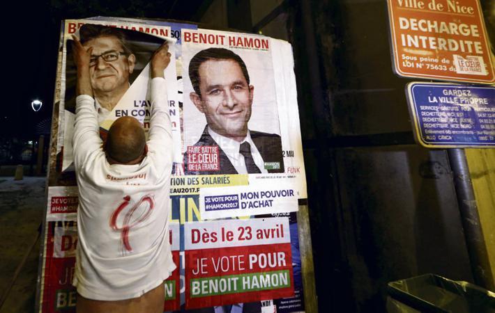 Между «Францией непокорённой» (ФН) и Бенуа Амоном в течение последнего года сложились довольно странные отношения, которые можно охарактеризовать выражением «я тебя люблю, и я тебя тоже нет».