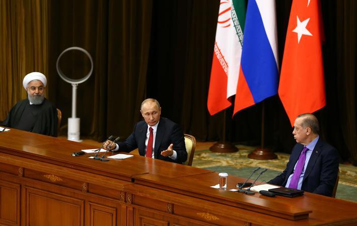 Сегодня, во время проведения двух саммитов, посвящённых Сирии, Россия представляется одной из основных посреднических сил между Саудовской Аравией, Ираном, Турцией, Израилем.