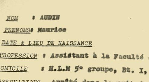 На основе картотеки историки и члены «Ассоциации Морис-Одан» в сотрудничестве с газетой «L'Humanite» создали сайт, с помощью которого можно узнать правду о судьбе жертв тех событий.