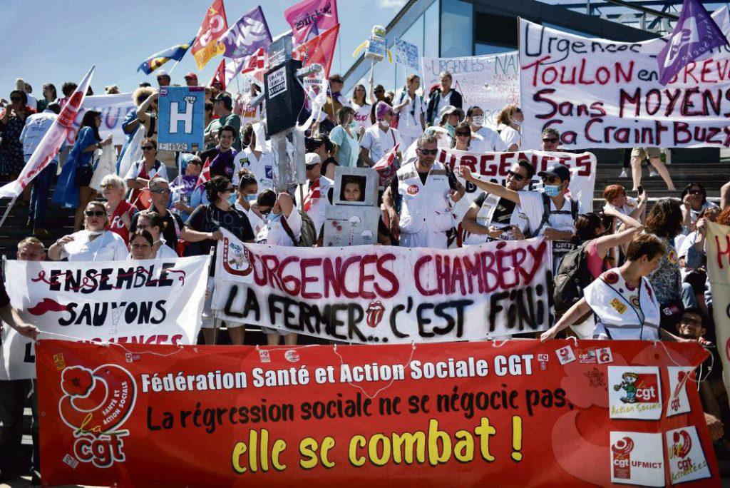 Вчера сотрудники Скорой помощи провели общенациональную акцию протеста, ознаменовавшую новый этап их борьбы.