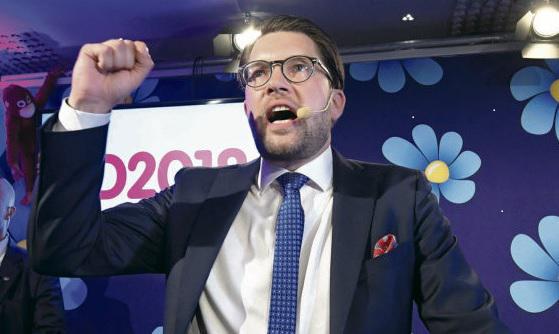 Большого прорыва не состоялось. Ультраправая партия неонацистского толка с таким неудачным названием «Шведские демократы» заняла третье место на прошедших в воскресенье выборах в Парламент и органы местного самоуправления, набрав 17,6 % голосов