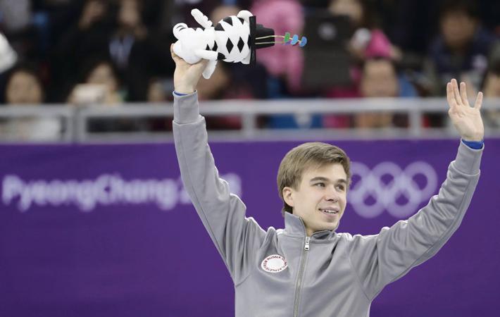 События не заставили себя ждать. В субботу 10 февраля (второй день ОИ) русский спортсмен завоевал место на подиуме