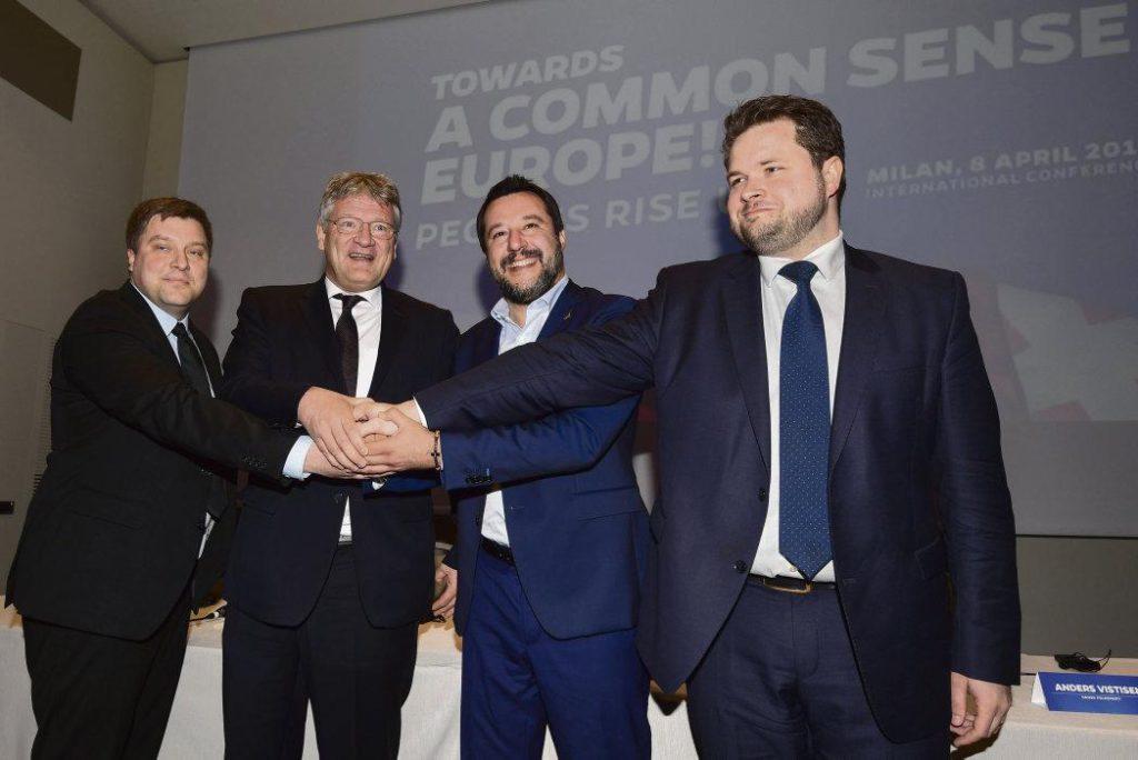 Маттео Сальвини, один из лидеров «Лиги Севера», заявил, что сразу же после выборов в Европарламент в этом органе законодательной власти будет создана единая фракция националистов.