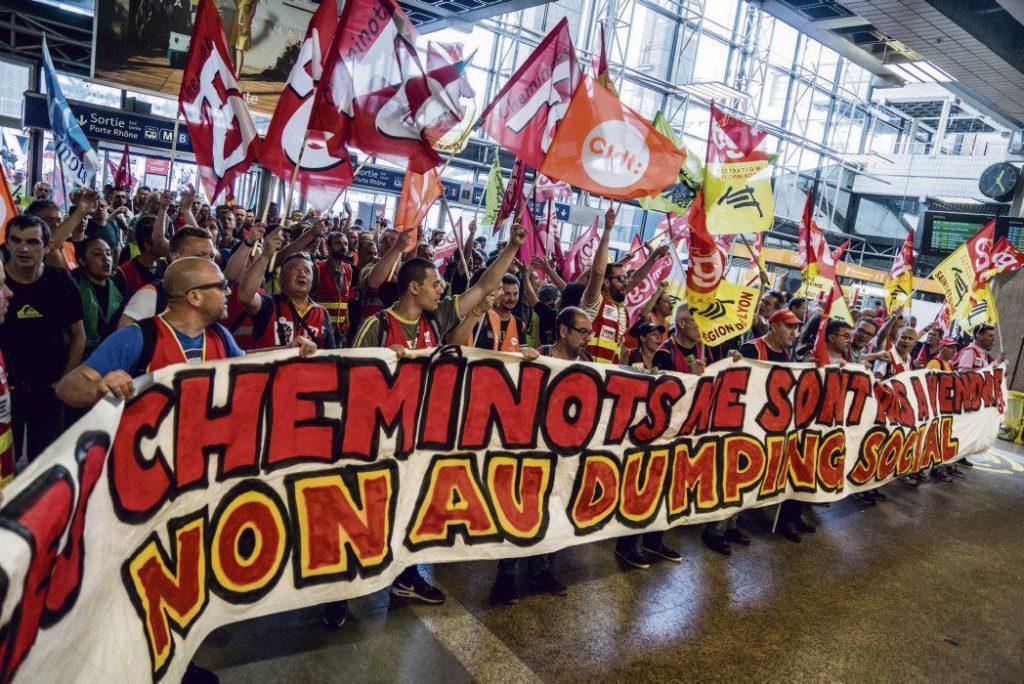 Сегодня, спустя почти год после принятия железнодорожного соглашения, профсоюзы анализируют последствия его введения и вновь призывают объединить усилия. Новая акция протеста назначена на 4 июня