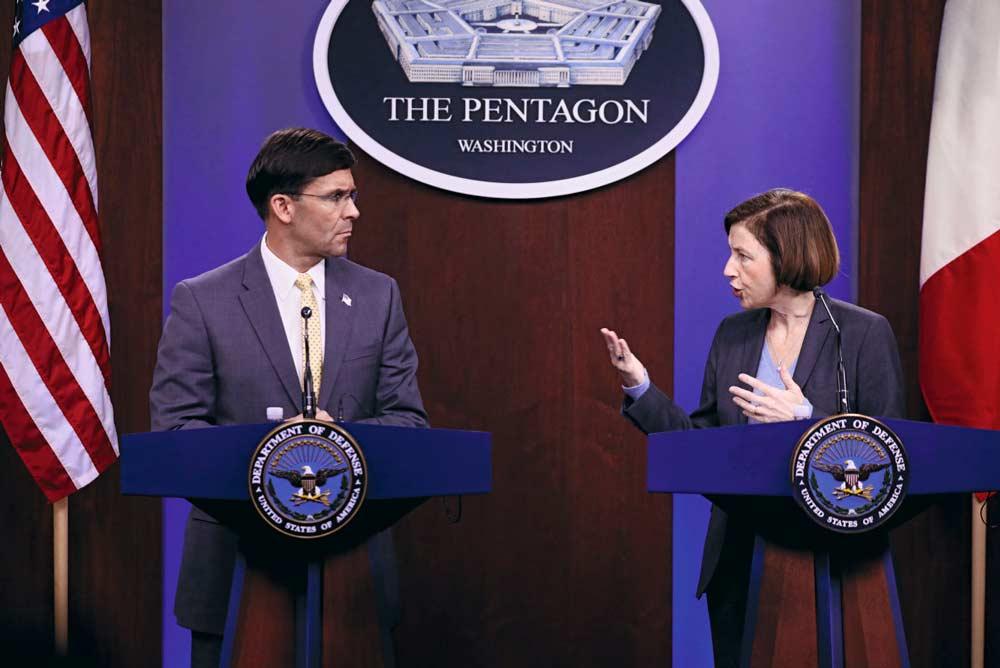 В понедельник, 27 января, министр обороны Франции Флоранс Парли встретилась в Пентагоне со своим американским коллегой Марком Т. Эспером. Её задача состояла в том, чтобы уговорить Вашингтон и дальше поддерживать операцию «Бархан».
