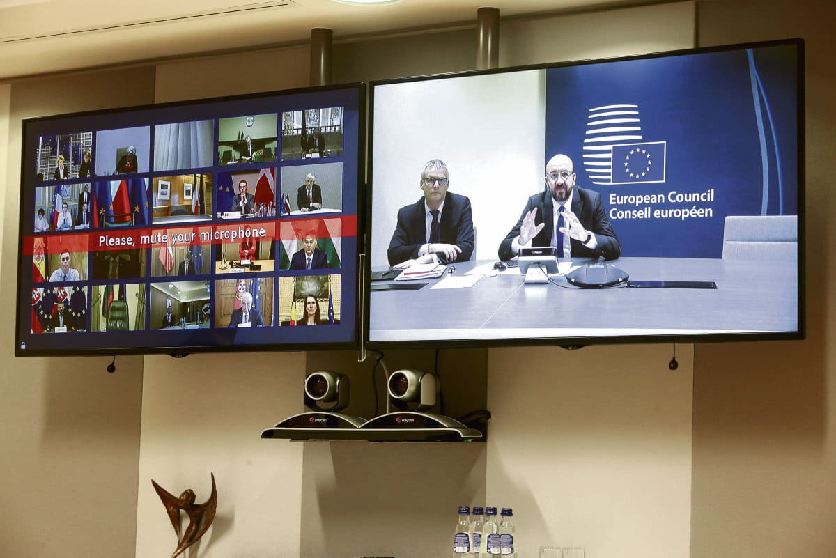Вчера главы европейских государств провели видеоконференцию, посвящённую разработке общего скоординированного плана экономических мер по борьбе с эпидемиологическим кризисом.