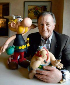 Вместе с Рене Госинни этот художник создал знаменитых героев комиксов, неустрашимых галлов, приключения которых на протяжении многих лет имели огромный успех, хотя сначала никто этого не ожидал.