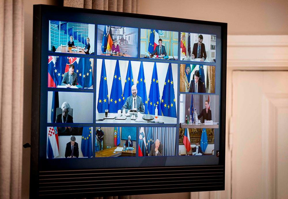 27 стран-членов Евросоюза не смогли прийти к единому решению по поводу плана восстановления экономики, ставшего необходимым ввиду ущерба, причинённого пандемией. Европейская комиссия должна предоставить план, предусматривающий выделение 2 000 миллиардов евро, уже в мае.