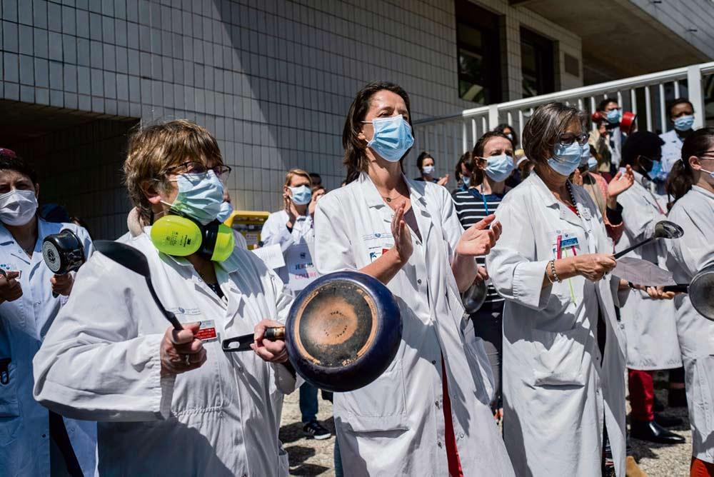 План системы здравоохранения «Сегюр», объявленный Оливье Вераном, прозвучал неубедительно для профсоюзов и профессиональных коллективов, которые по-прежнему призывают к мобилизации 16 июня.