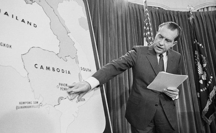 Начатая президентом Никсоном на территории Камбоджи операция, которую Вашингтон планировал с момента обретения этой страной независимости, расширила регион боевых действий войны во Вьетнаме. Кампания закончилась неудачей, однако стала ключом от ящика Пандоры.
