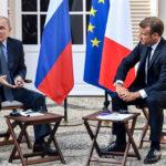 Визит Эммануэля Макрона в Москву для переговоров по ливийскому вопросу