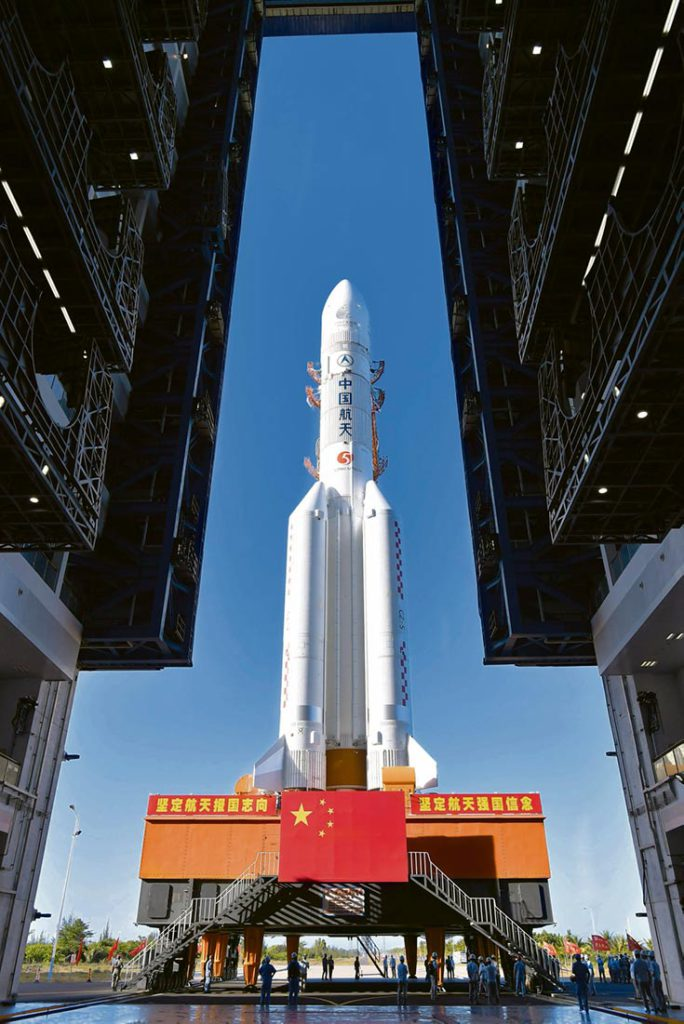 Китай начинает свою первую миссию на Красную планету. Дональд Трамп намерен защищать новый «военный фронт».