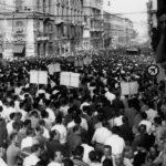 30 июня 1960 года в Генуе прошла массовая демонстрация антифашистов
