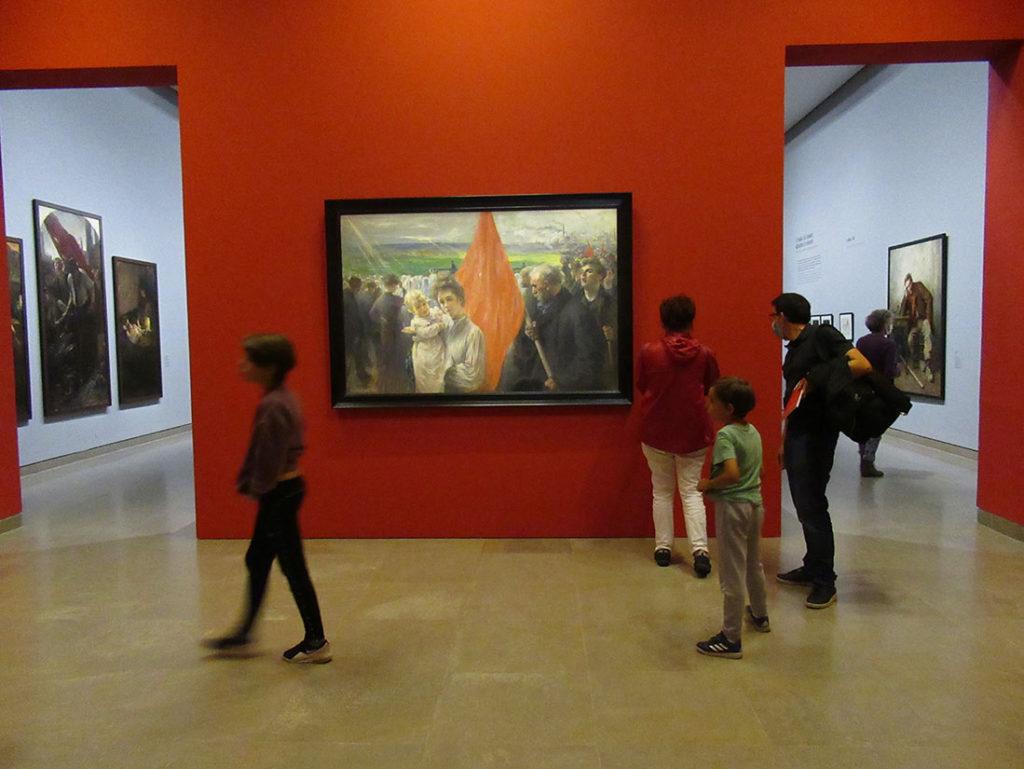 В рамках культурной программы фестиваля «Импрессионистская Нормандия» Музей изящных искусств в Кане открывает замечательную выставку «Пылающие города», на которой представлены картины, написанные в период с 1870 по 1914 гг., изображающие промышленные предприятия и жизнь рабочего класса.
