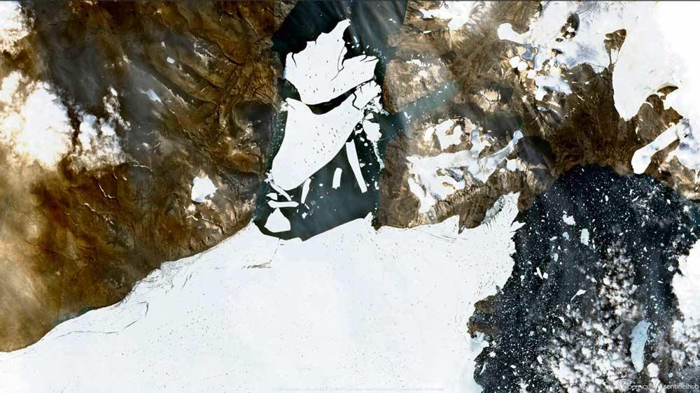 По сведениям Национального центра данных по снегу и льду США, толщина ледяной шапки в Арктике достигла самого низкого уровня второй раз за последние сорок два года. Ещё один сигнал тревоги среди всех, поступивших с начала лета.