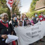 Korian, DomusVi: Гонения на членов профсоюзов в домах престарелых