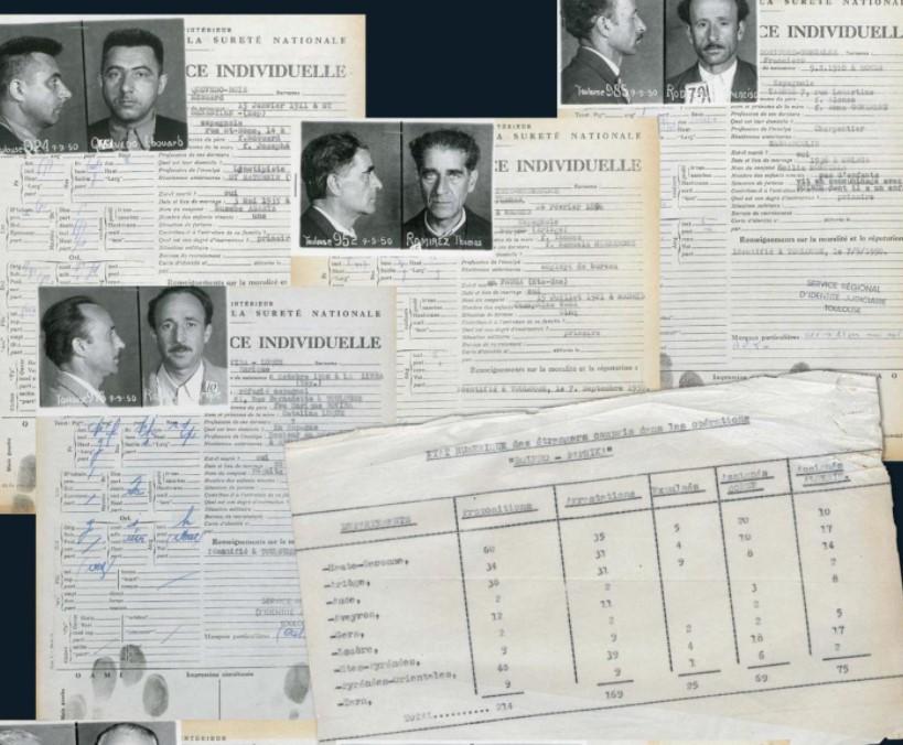 Холодная война была в самом разгаре, и во Франции начинается мания преследования, связанная с мнимой угрозой тайного советского вторжения. Власти начали устраивать масштабные облавы на коммунистов из Испании и восточноевропейских стран.