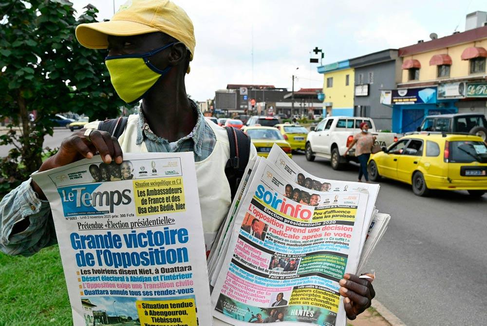 Путь Аласана Уаттары, политика, преданного неолиберальным и неоколониальным державам, в первую очередь Франции, к третьему мандату стал ещё более тернистым. Почти все оппозиционные силы проигнорировали выборы, а голосование превратилось в кровопролитие. Столкновения в окрестностях Ямусукро 2 ноября унесли жизни четырёх человек.