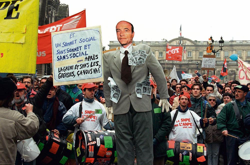 Реформа медицинского страхования, пенсионная реформа, реформа статуса железнодорожников – серьёзный повод. 24 ноября 1995 года начались самые крупные после мая 1968 года социальные волнения.