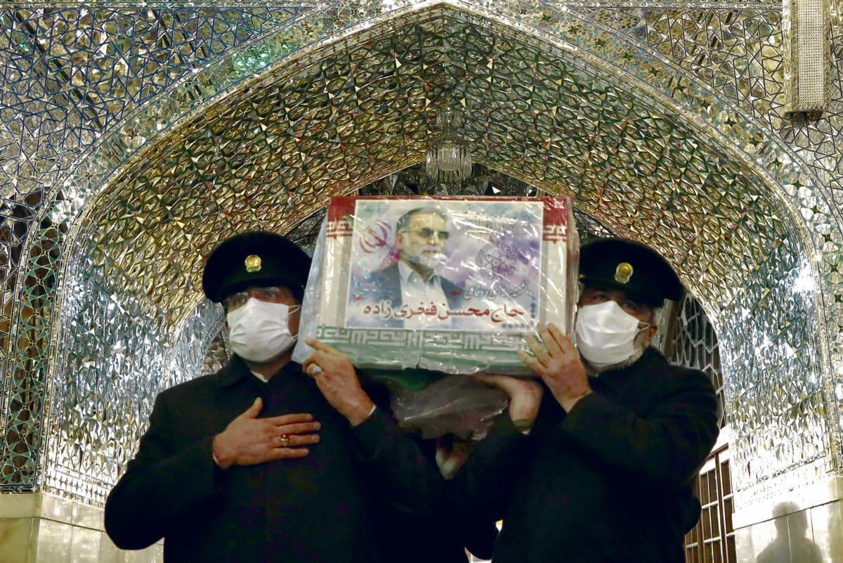 Убит работавший над иранской ядерной программой Мохсен Фахризаде. Ответственность за произошедшее никто не взял, но случившееся должно было помешать будущей политике только что избранного нового президента США Джо Байдена. В организации преступления подозревают Израиль.