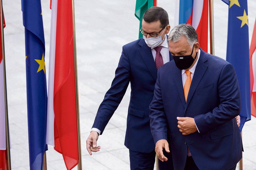 10 декабря открывается европейский саммит ЕС. Незадолго до его открытия Венгрия и Польша наложили вето на проект фонда восстановления экономики. В качестве альтернативы предложениям, исходящим от Парижа и Берлина, эти страны разрабатывают свой собственный европейский национально-либеральный проект.
