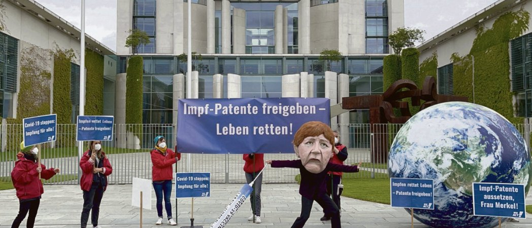 ЕС не отменит патенты на вакцины