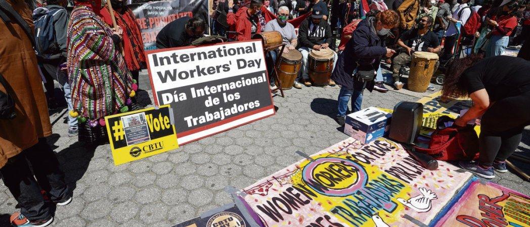 Первый международный профсоюзный форум во Франции
